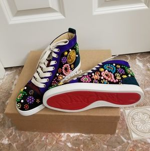 ❤Christian Louboutin Embellished Sneakers❤